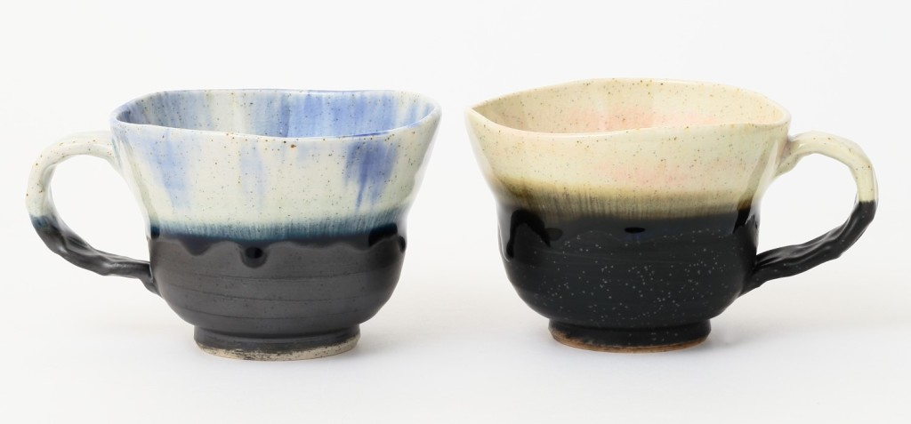 松永窯広口カップ