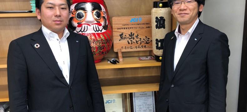 01前司さんと小林さん