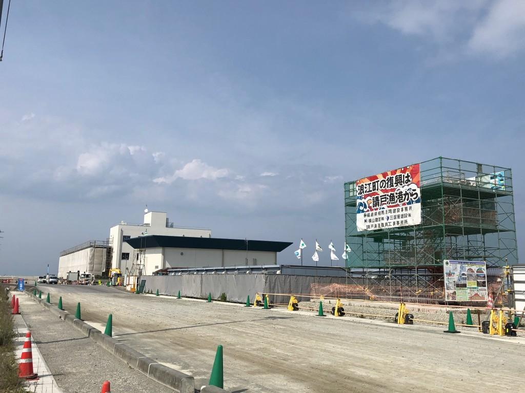 5整備が進む港湾施設