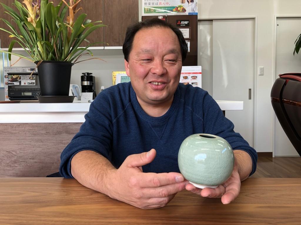 5阿久津さんと花瓶